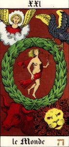 Le Monde - Tarot de Wirth