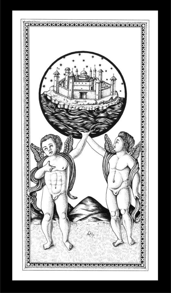 Il Mondo -Tarot - Arnaud Malherbe
