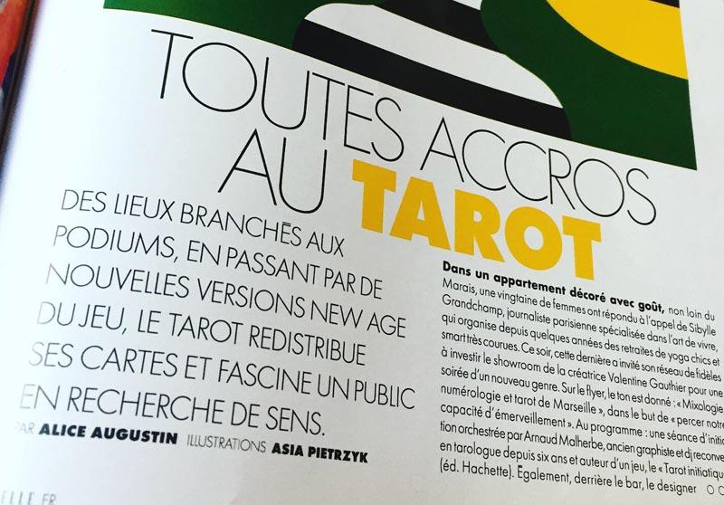 Elle Magazine Tarot